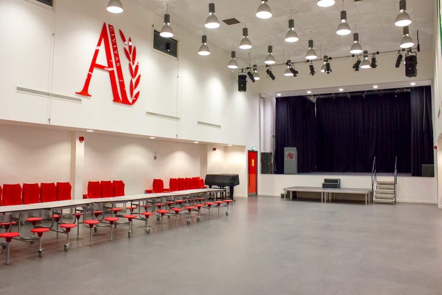 Ark Academy Wembley Main hall space hire