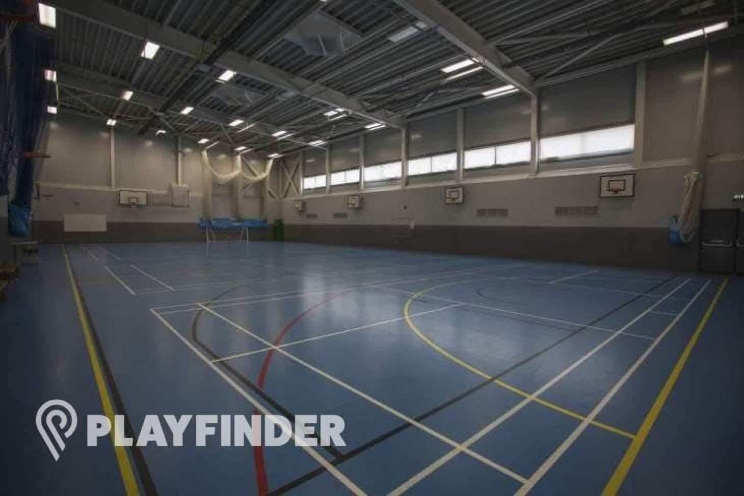 Ark Academy Wembley Indoor basketball court