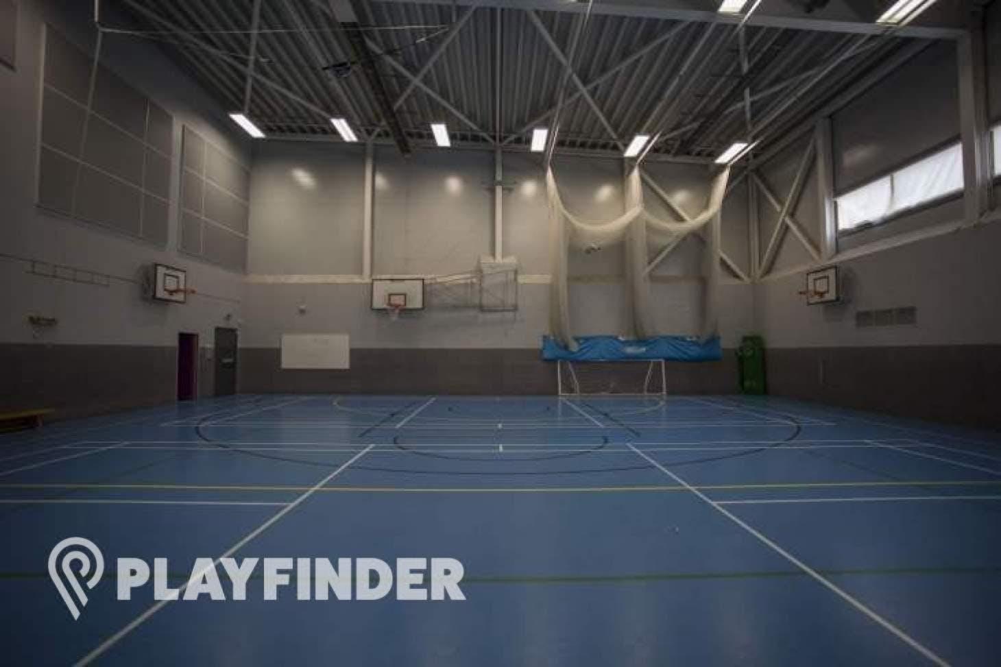 Ark Academy Wembley Indoor netball court