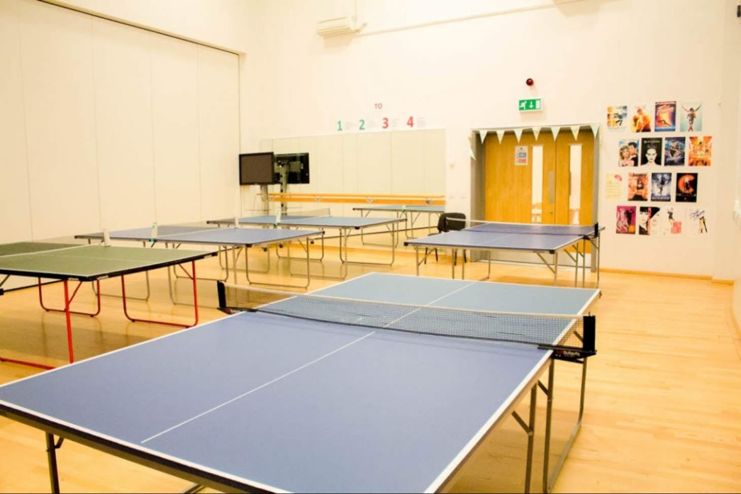 Co-op Academy Stoke-on-Trent Table | Indoor table tennis table