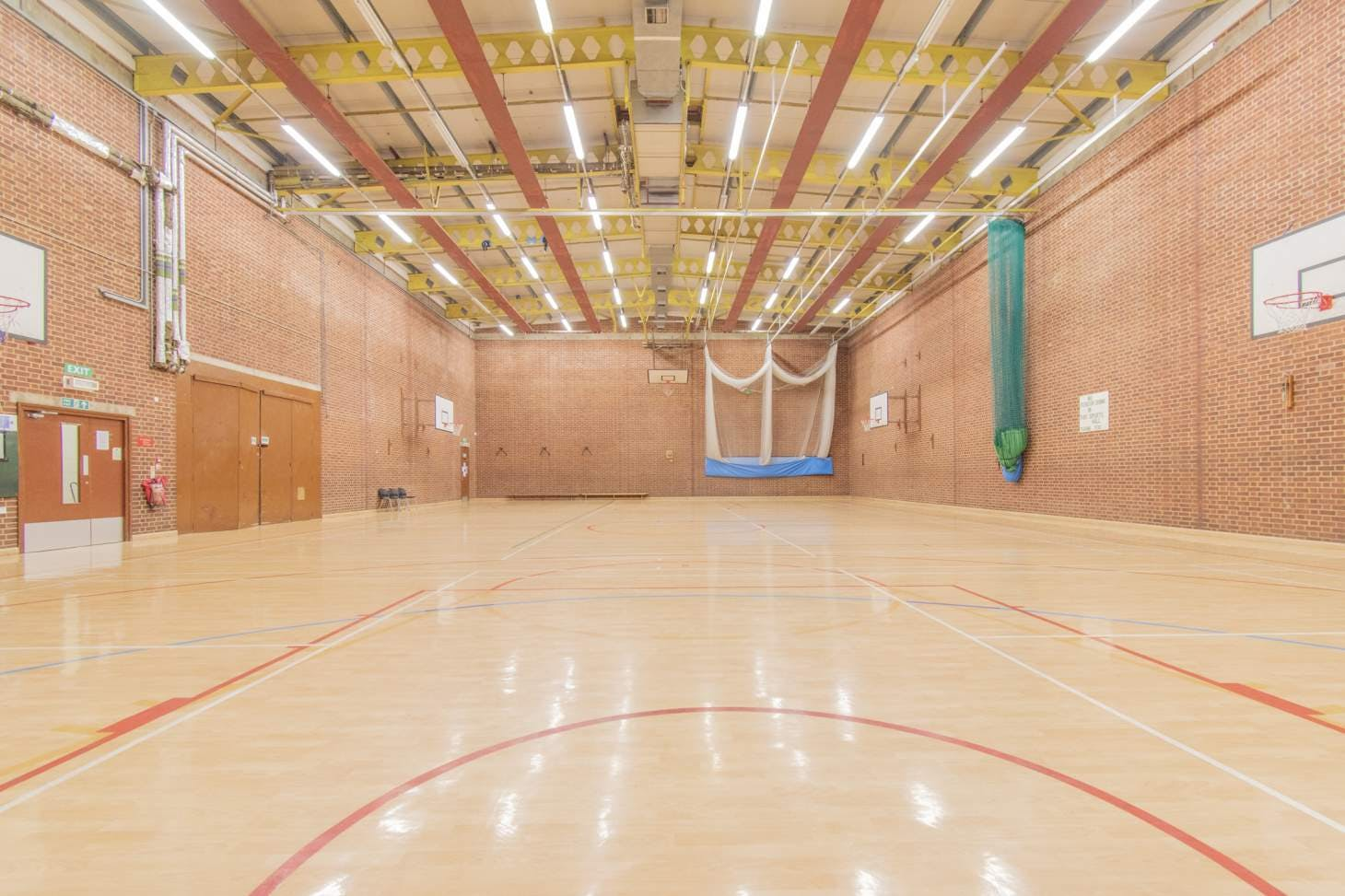 Pastures Youth and Sports Centre Court | Sports hall netball court