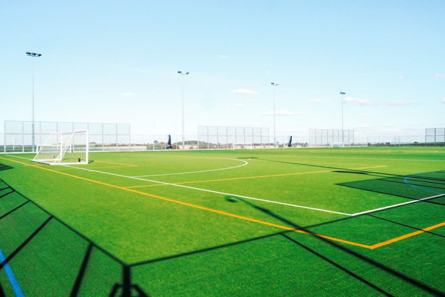 Dinnington High School 7 a side   Astroturf football pitch