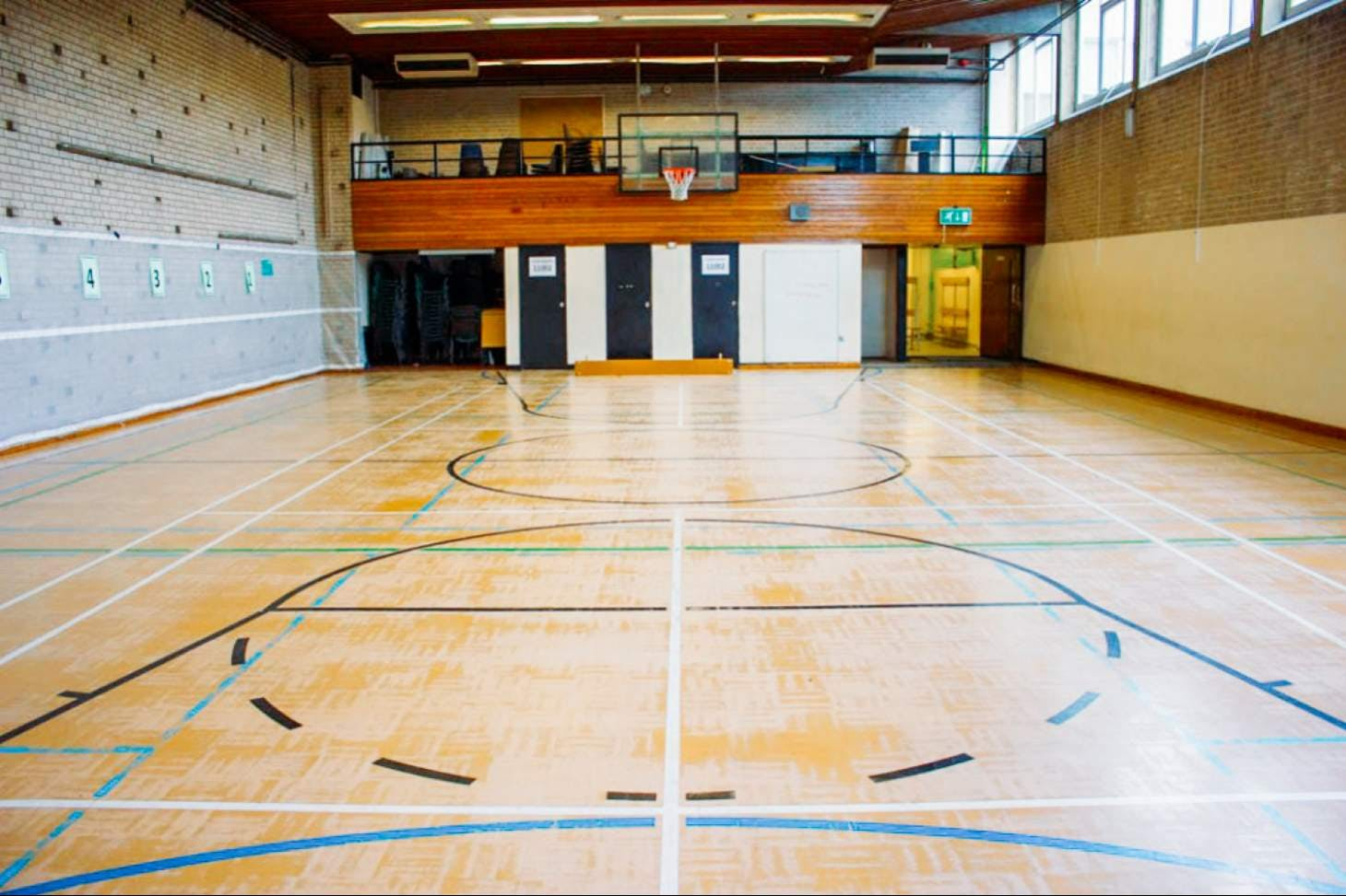 Harris Academy Battersea Gymnasium space hire