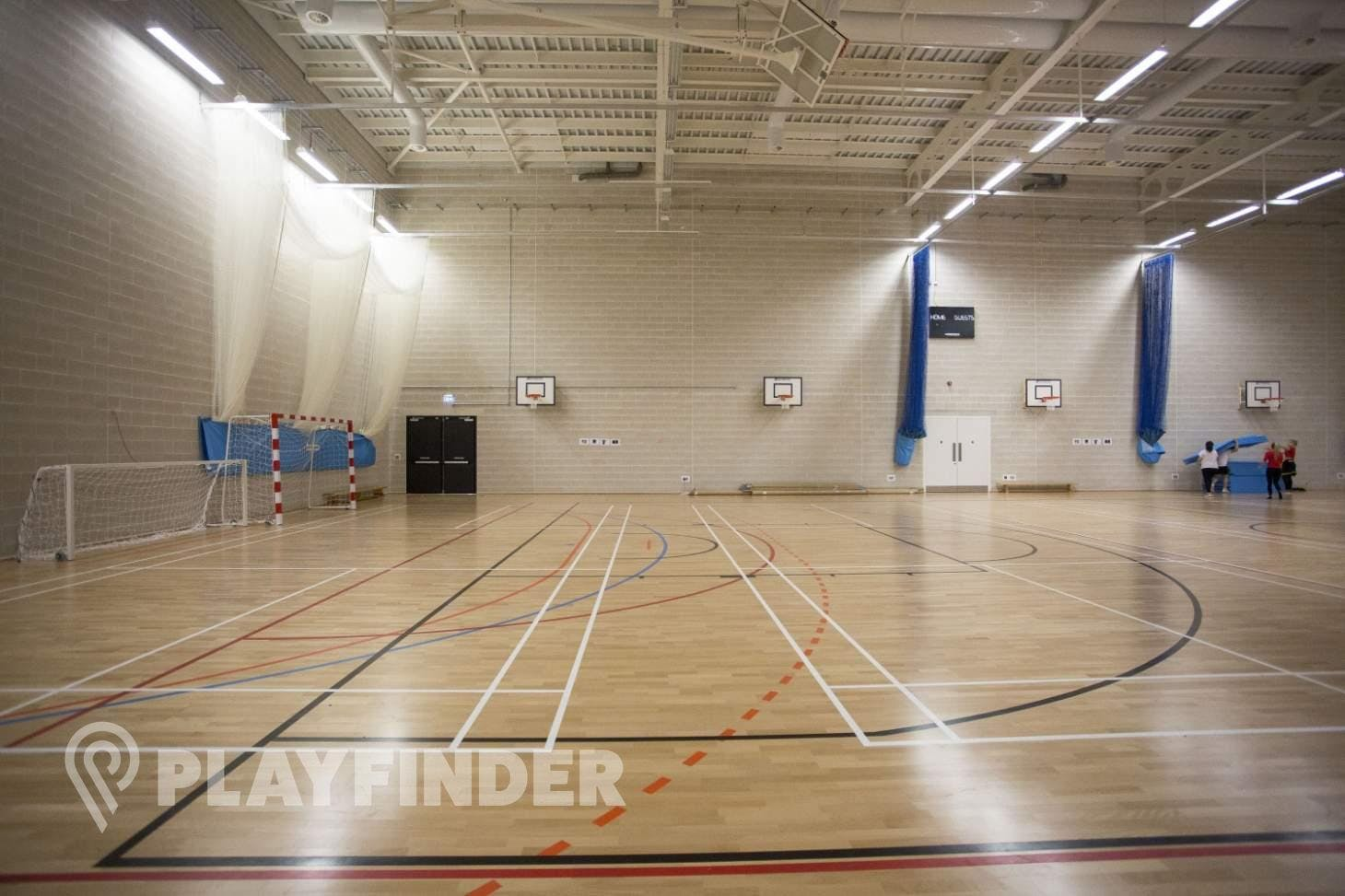 Ark Elvin Academy Court | Sports hall volleyball court