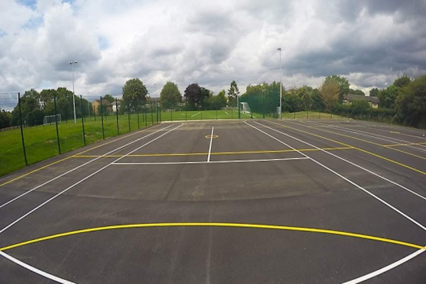 Archer Academy Court | Hard (macadam) netball court