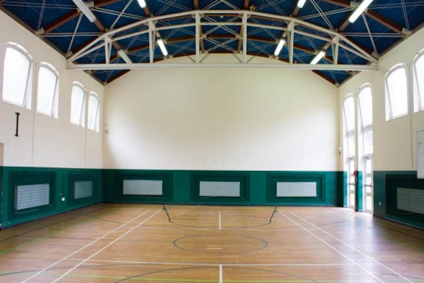 Phoenix Academy Court   Gymnasium basketball court