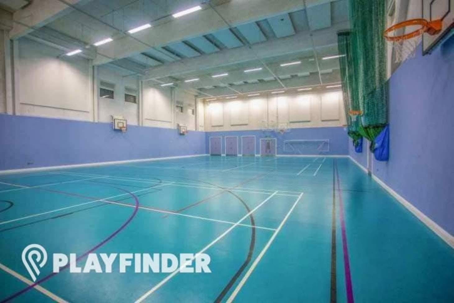 Mossbourne Victoria Park Academy Nets | Sports hall cricket facilities