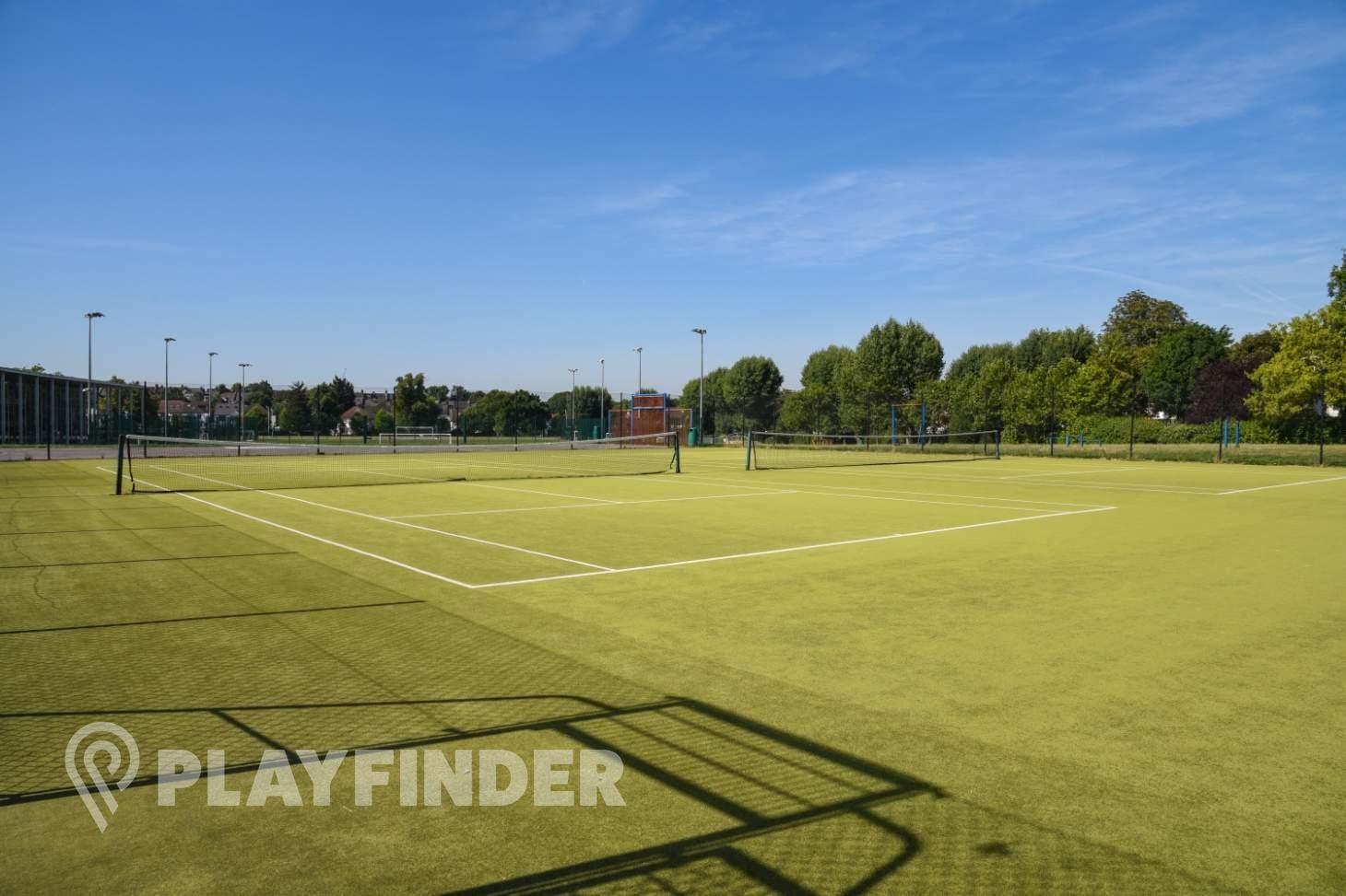Capital City Academy Court | Sand-based Astroturf tennis court