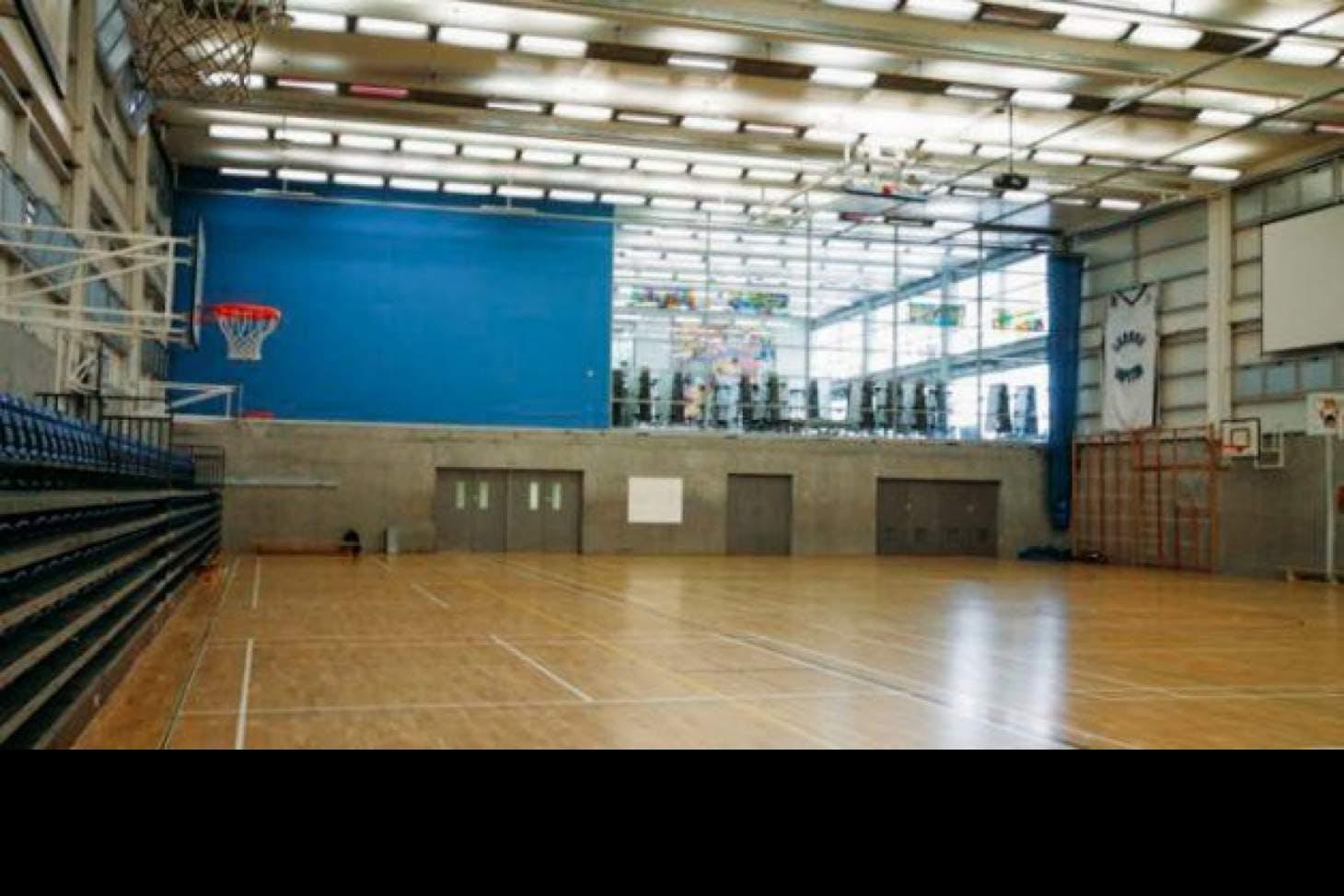 Capital City Academy Indoor   Hard badminton court