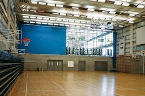 Capital City Academy | Sports hall Volleyball Court