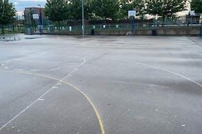 Ark Academy Wembley | Concrete Basketball Court