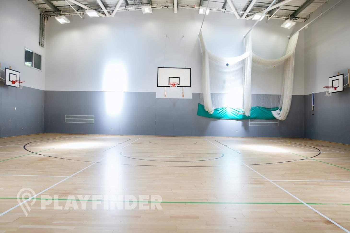 St Aloysius' College Nets   Sports hall cricket facilities