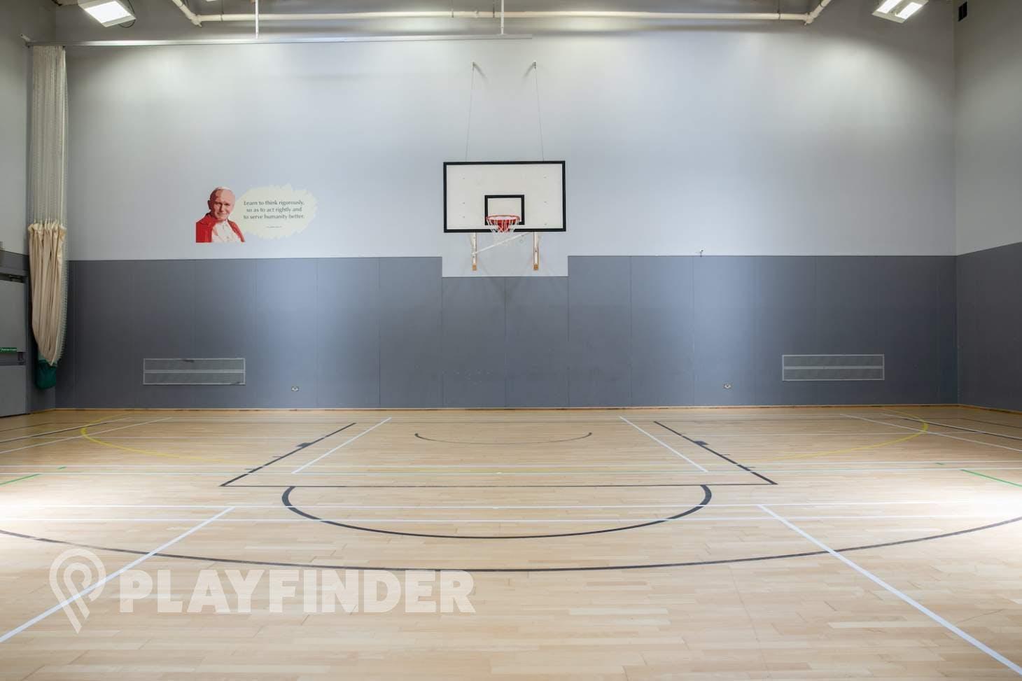 St Aloysius' College Court   Sports hall volleyball court