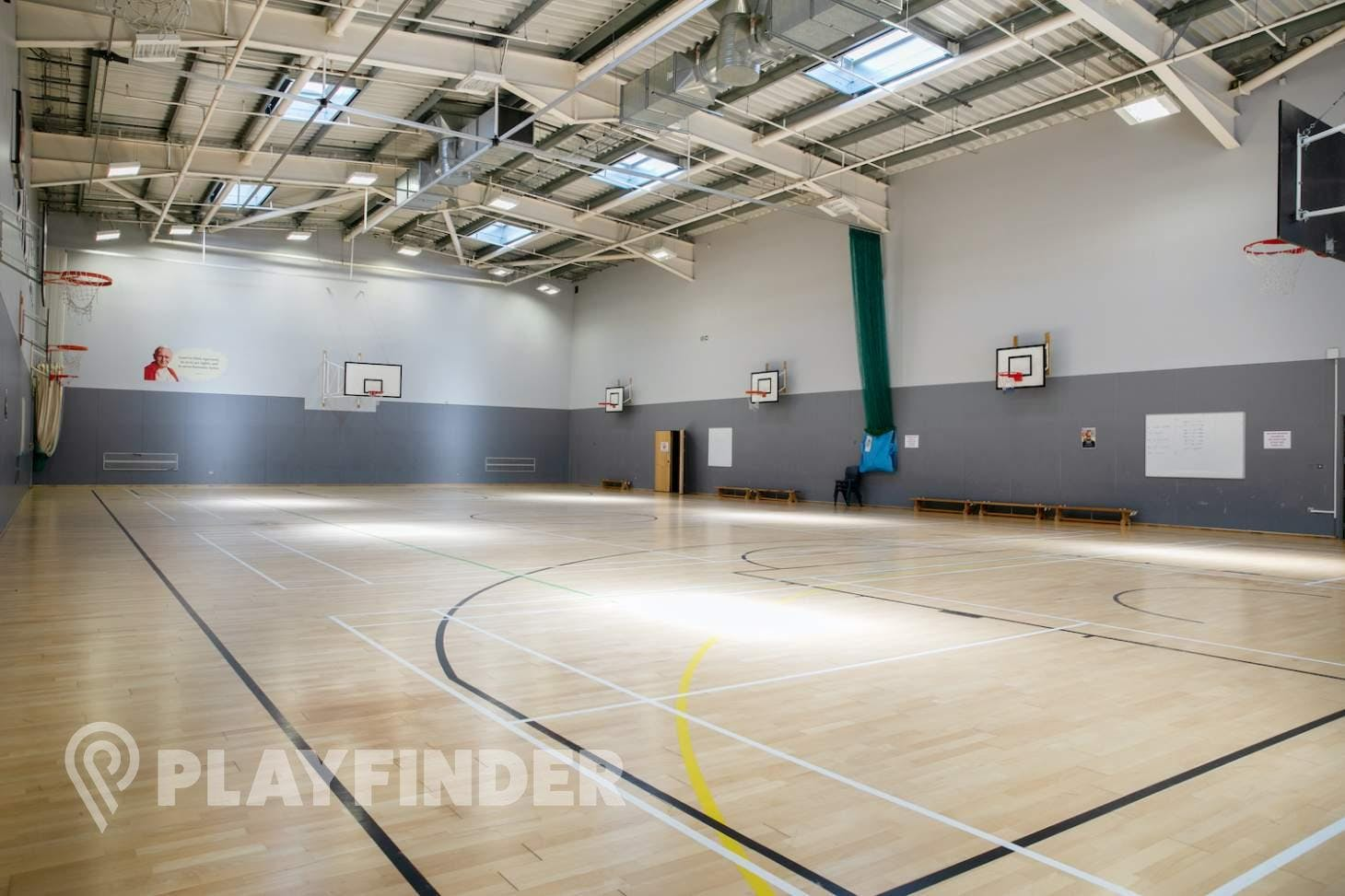 St Aloysius' College Court | Sports hall netball court