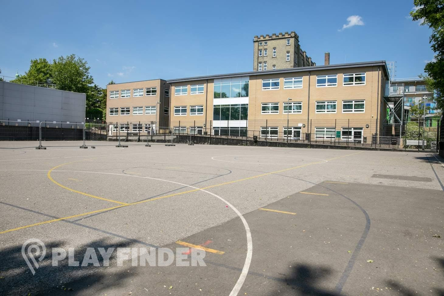 St Aloysius' College Court   Hard (macadam) tennis court