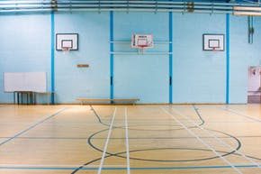 Carshalton High School For Girls | Gymnasium Basketball Court