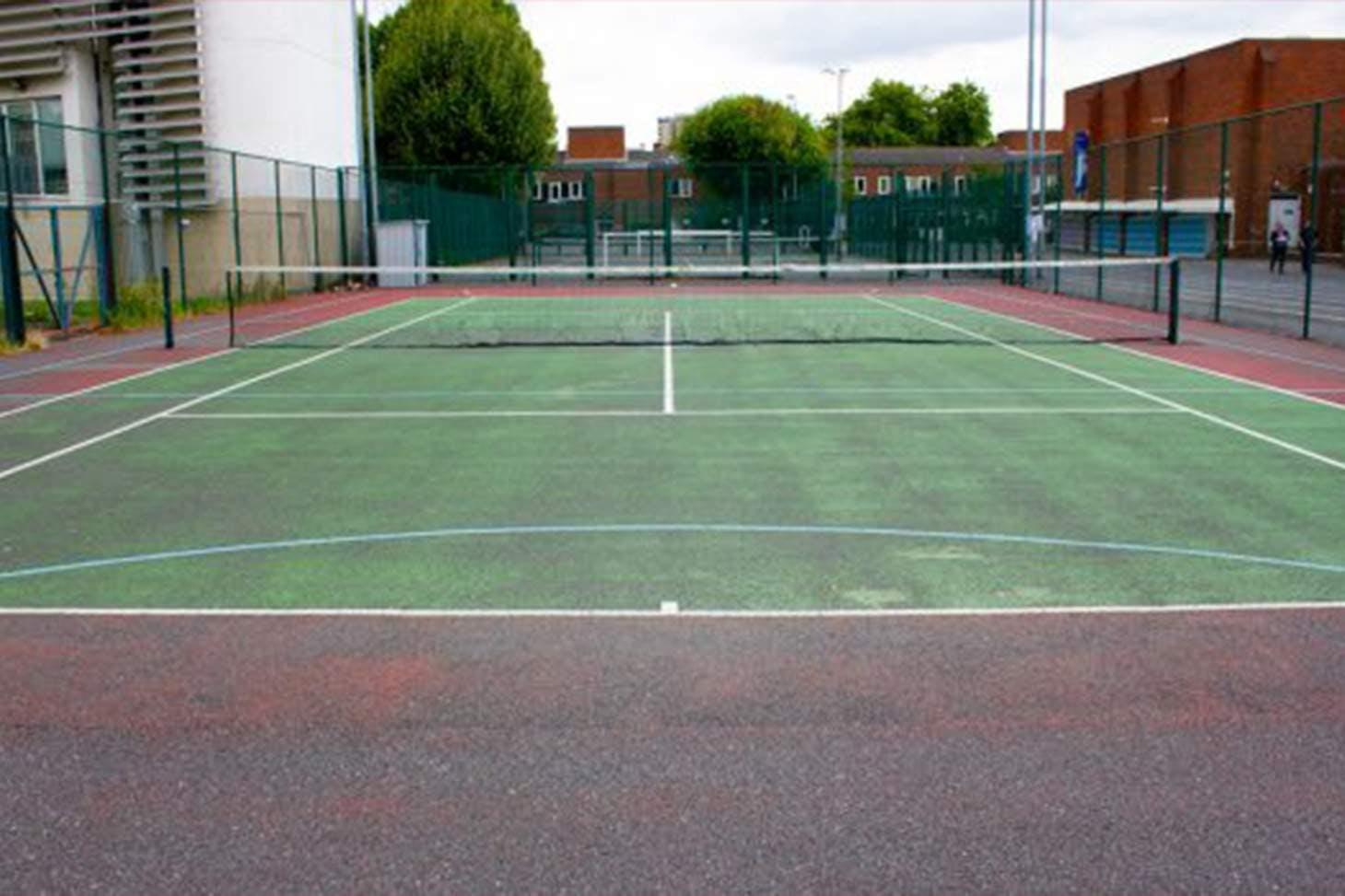 Clapton Girls' School Court | Concrete tennis court