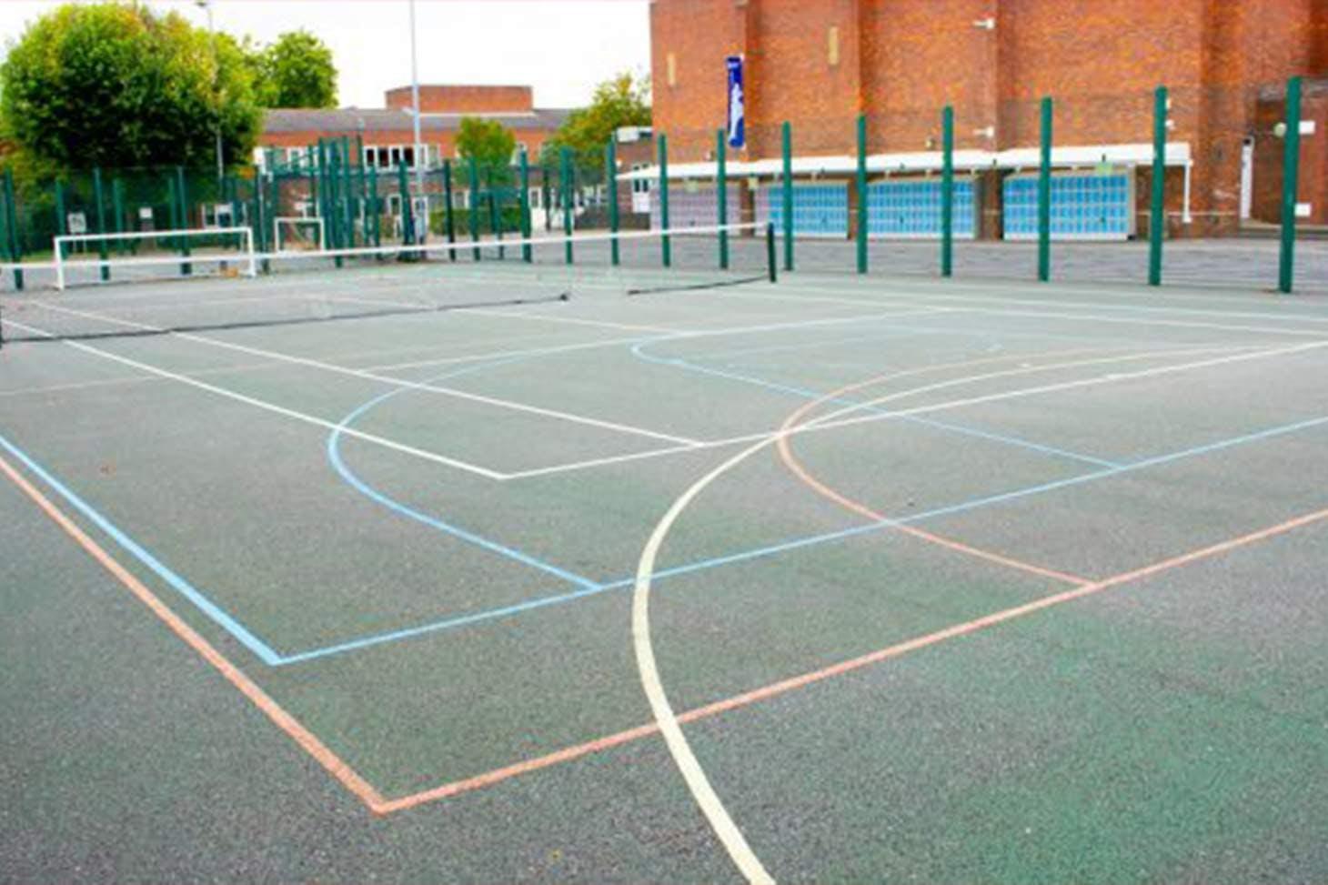 Clapton Girls' School 5 a side | Concrete football pitch
