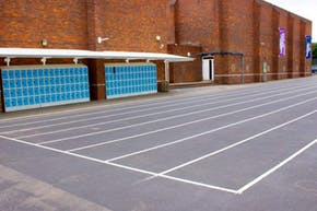 Clapton Girls' School | Hard (macadam) Athletics Track