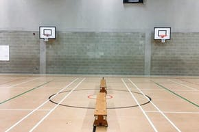 East Barnet School | Sports hall Badminton Court