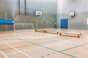 East Barnet School | Sports hall Volleyball Court