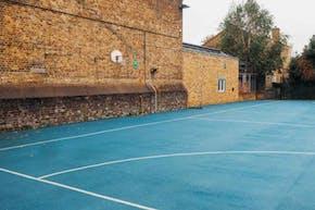 Bridge Hungerford School   Hard (macadam) Netball Court