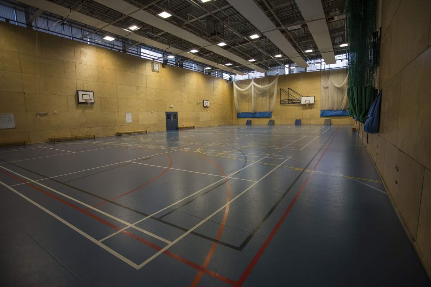 Ark Pioneer Academy Nets | Sports hall cricket facilities