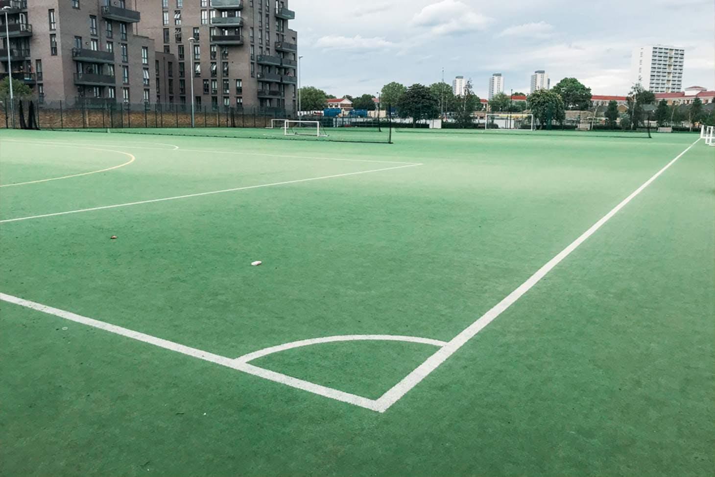 St Paul's Way Trust School 11 a side   Astroturf football pitch