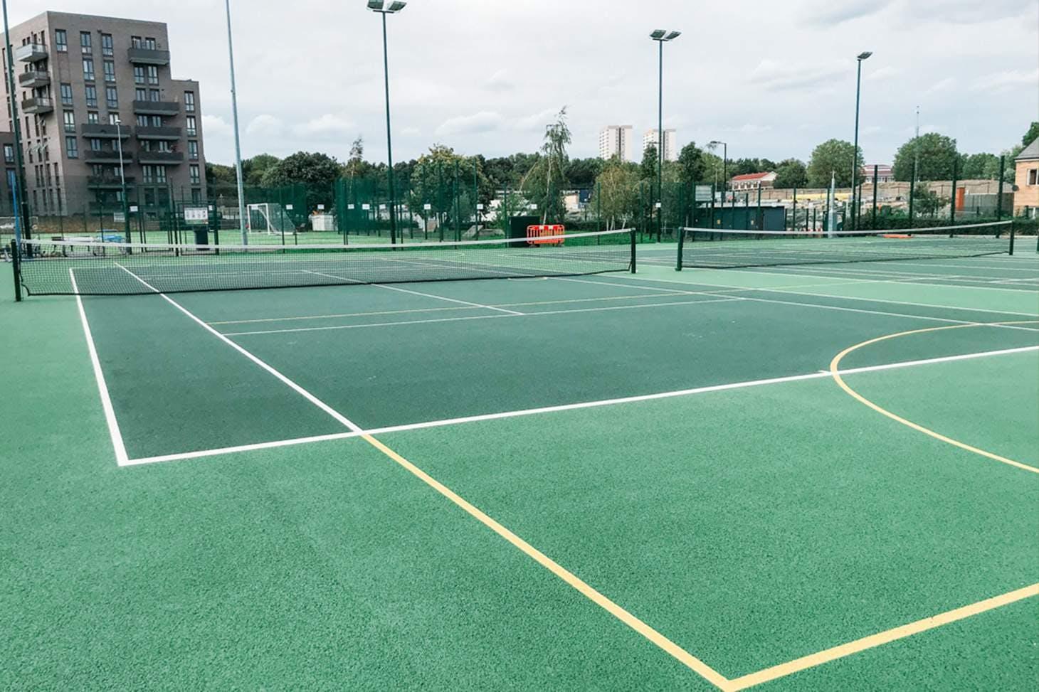 St Paul's Way Trust School Court   Hard (macadam) tennis court