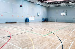 St Paul's Way Trust School | Sports hall Badminton Court