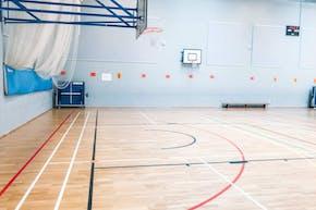 St Paul's Way Trust School | Sports hall Volleyball Court