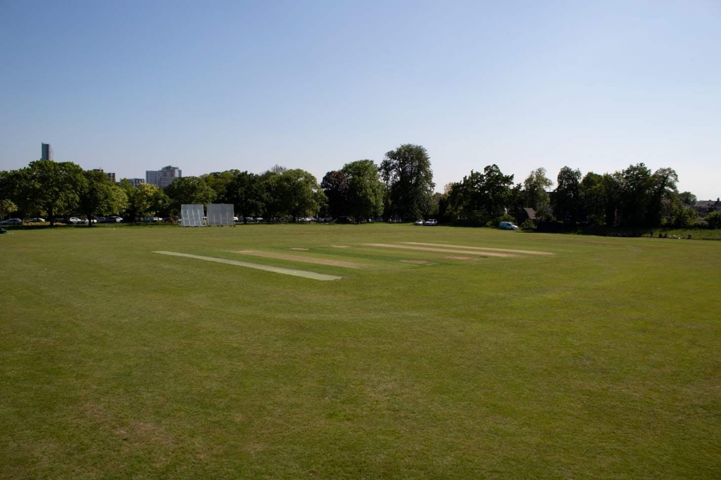 The Clubhouse at Valentines Pitch | Grass cricket facilities