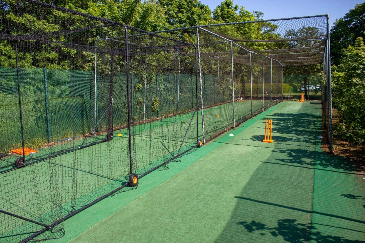 The Clubhouse at Valentines Nets | Artificial cricket facilities