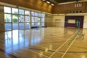Singh Sabha Sports Centre | Sports hall Netball Court