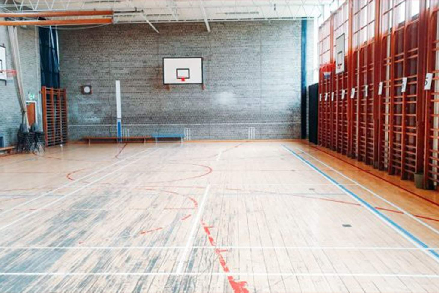 Laureate Academy Court | Gymnasium basketball court