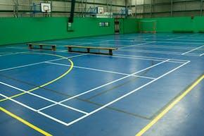 Laureate Academy   Indoor Badminton Court