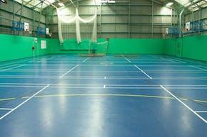 Laureate Academy   Sports hall Basketball Court
