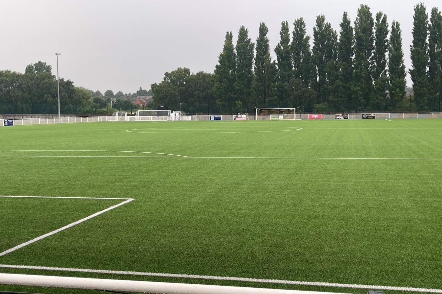 Basford United Football Club 11 a side   3G Astroturf football pitch