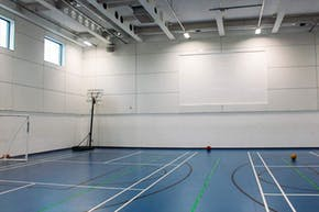 Sir Simon Milton Westminster UTC | Indoor Badminton Court