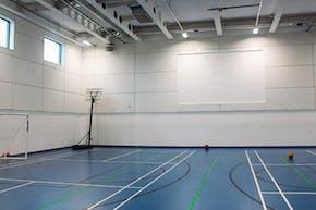 Sir Simon Milton Westminster UTC | Indoor Netball Court