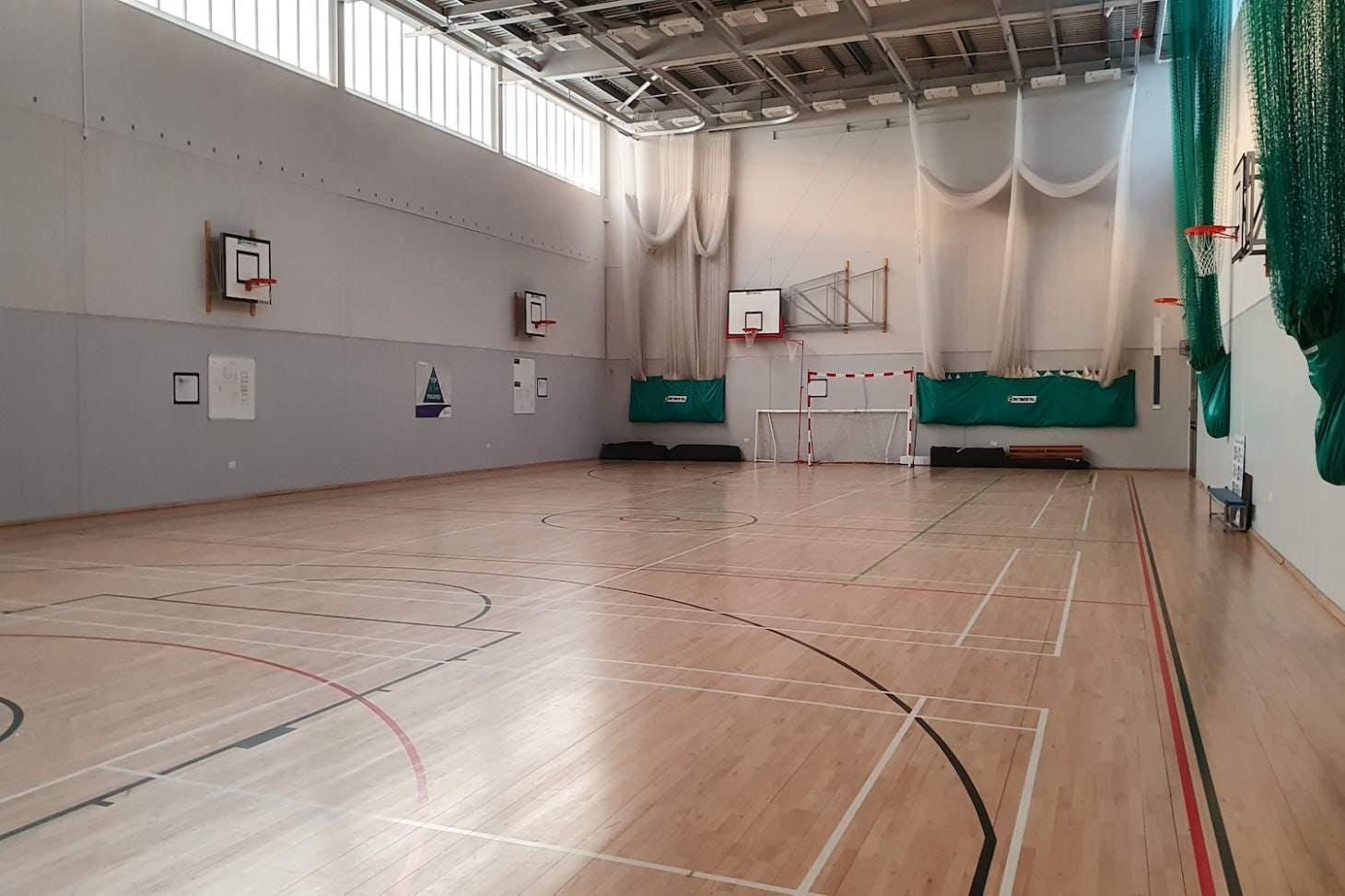 Outwood Academy Shafton 5 a side   Indoor football pitch