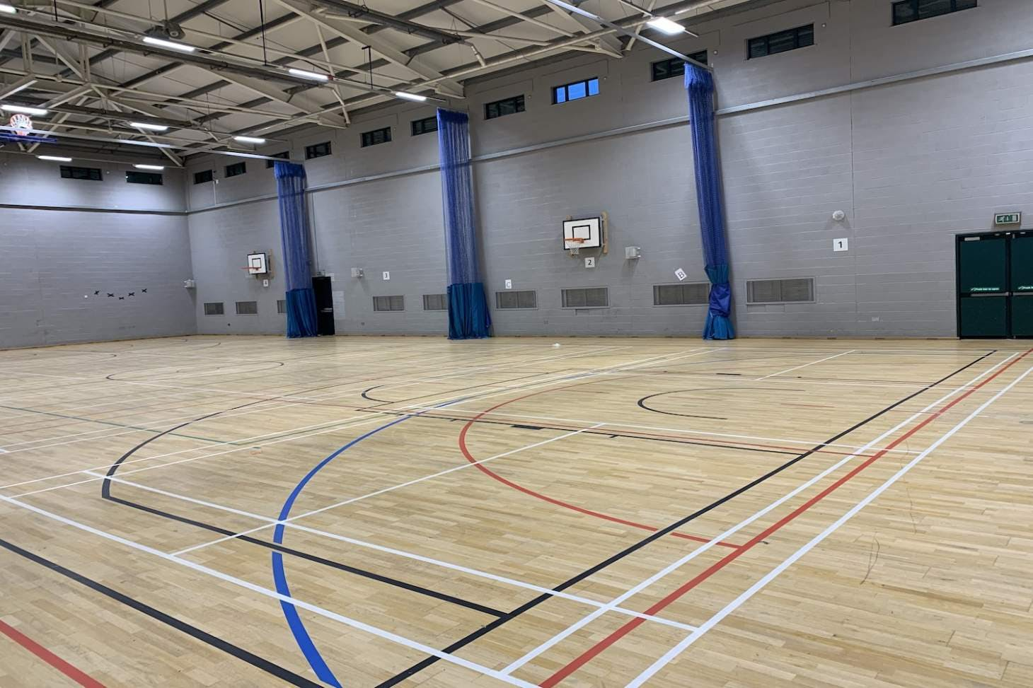 Fairfield High School for Girls Sports hall space hire