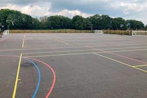 Bolder Academy | Astroturf Rugby Pitch
