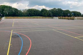 Bolder Academy | Hard (macadam) Tennis Court