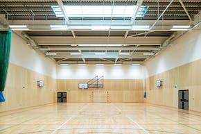 Bolder Academy | Indoor Badminton Court