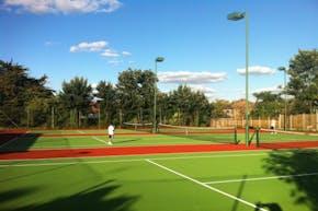 Coles Green Lawn Tennis Club | Hard (macadam) Tennis Court