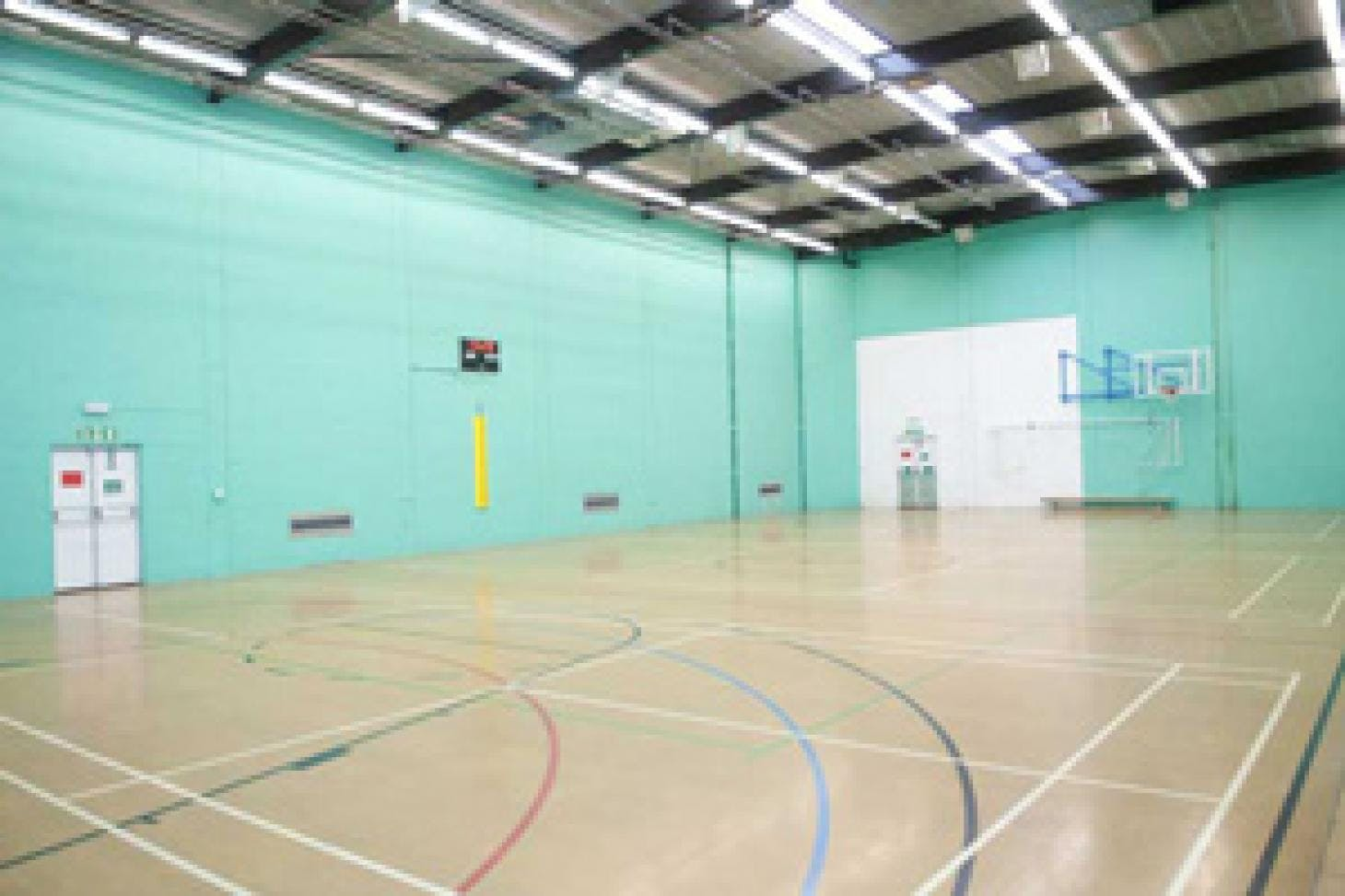 Robert Lowe Sports Centre Indoor netball court