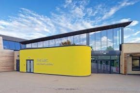 Alec Reed Academy | Concrete Tennis Court