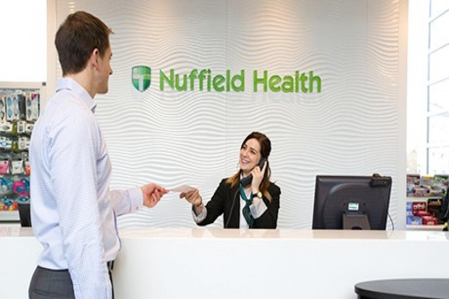 Nuffield Health Wimbledon Indoor swimming pool