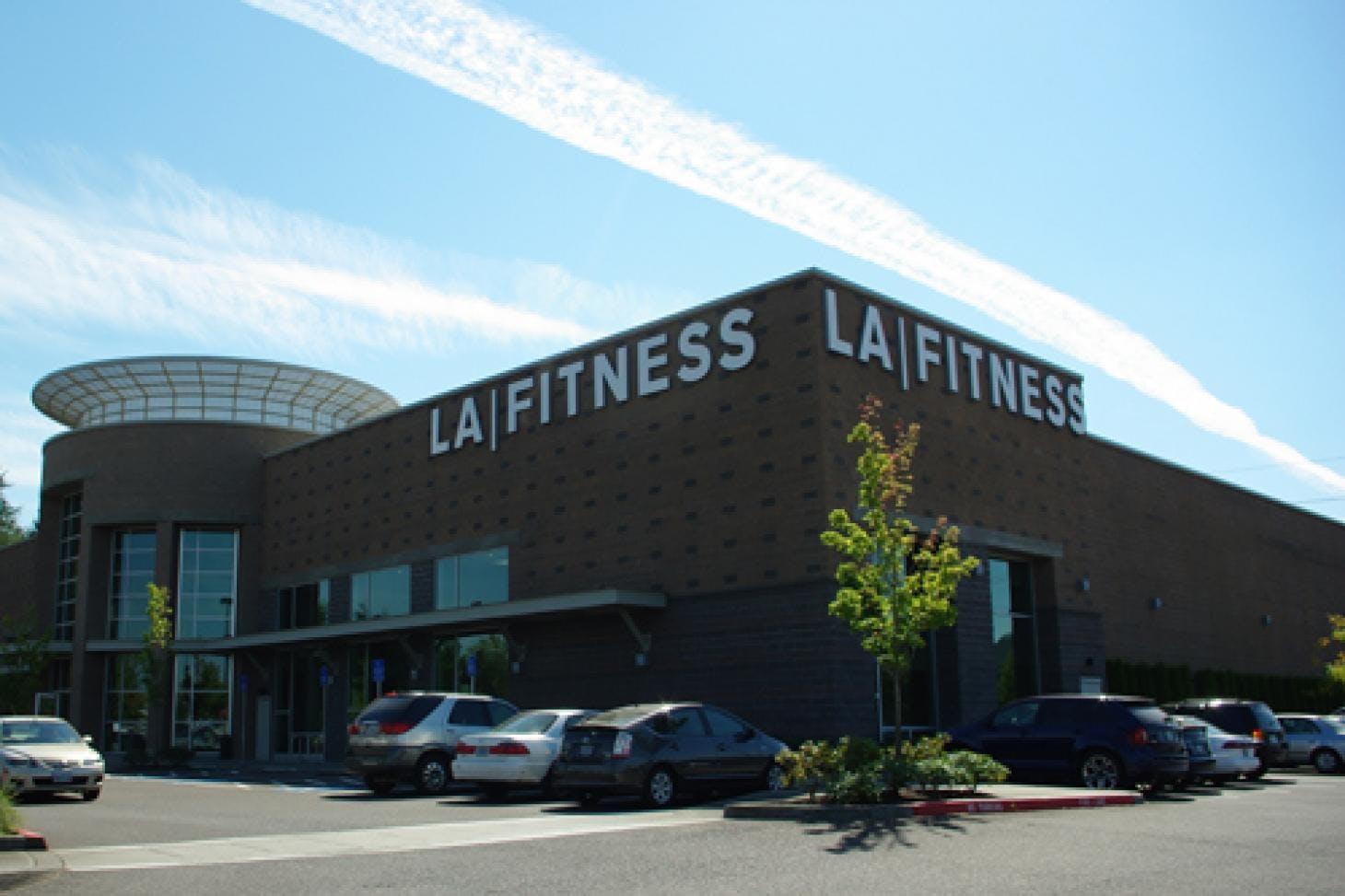 LA Fitness St Pauls Gym gym